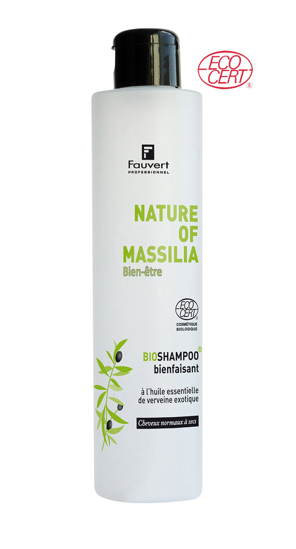 Bioshampoo Bienfaisant A 'Huile Essentielle De Verveine - Nature Of Massilia - Bien-Etre - 200ml