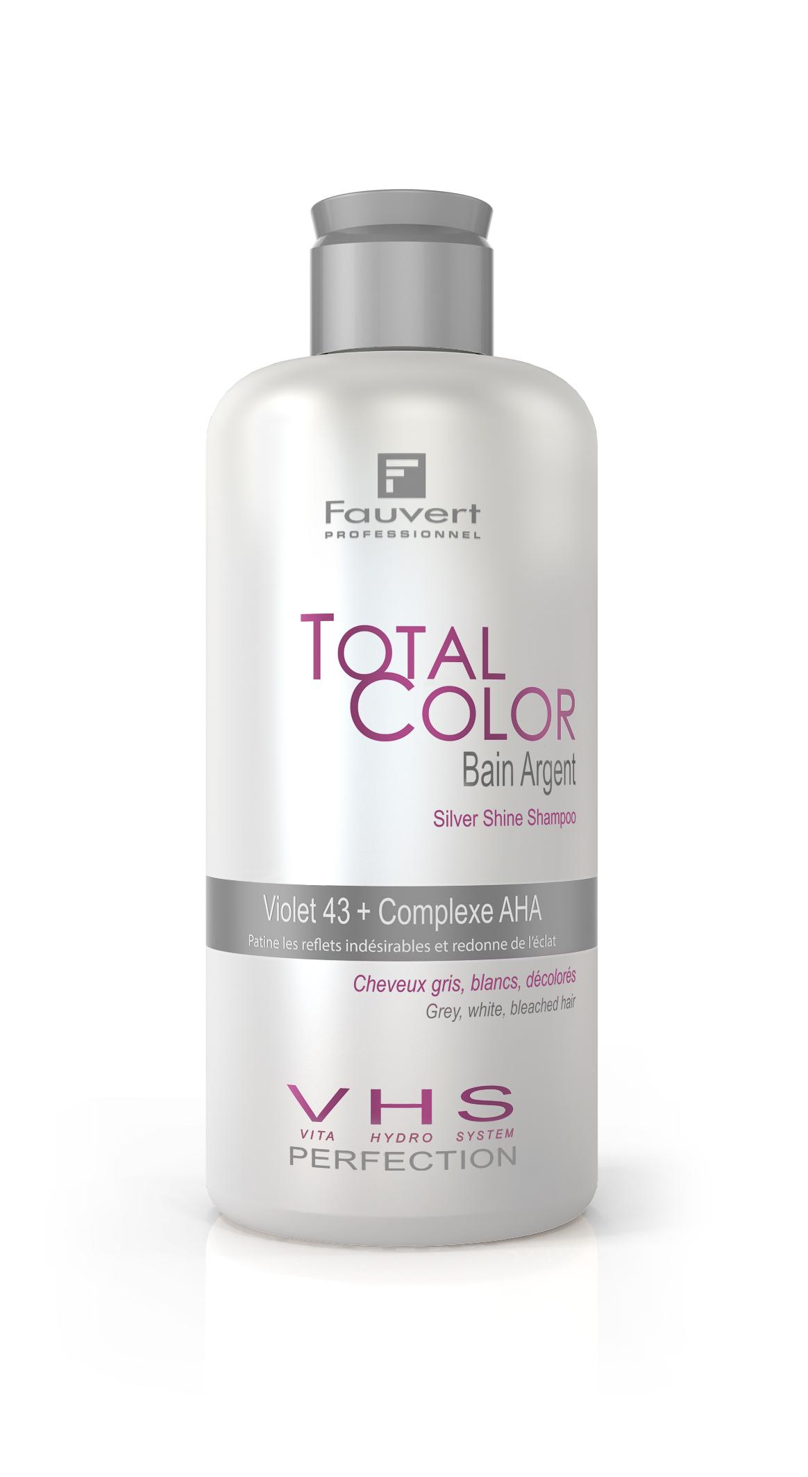 Bain Argent - Silbershampoo - Vita Hydro-System - Total Color - 250ml