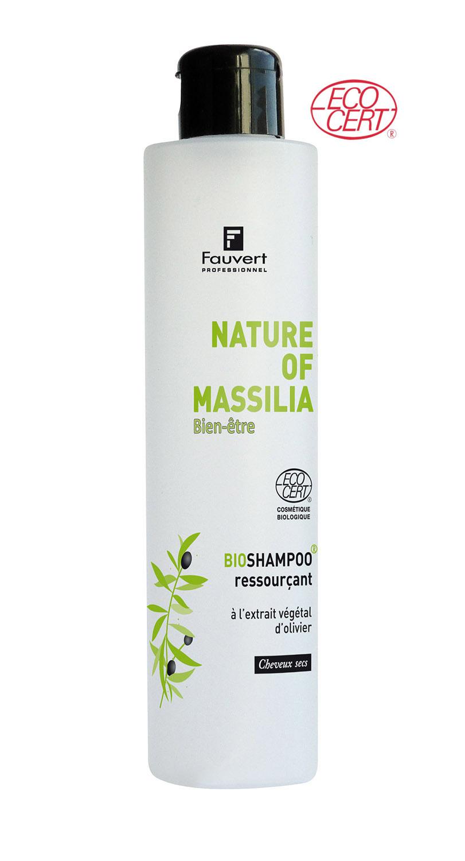 Bioshampoo Ressourcant A L'Extrait Vegetal - Nature Of Massilia - Bien-Etre - 200ml