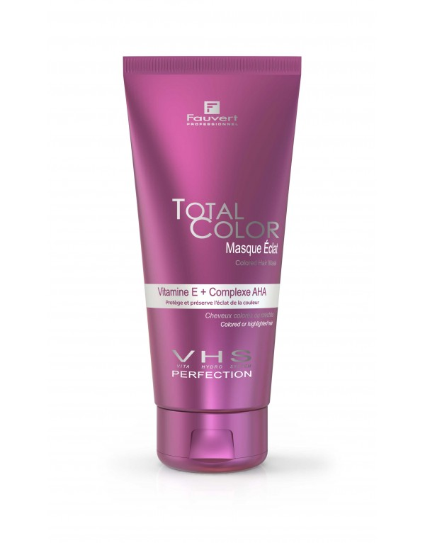 Masque Eclat Colored Hair Mask - Vita Hydro-System - Total Color - 200ml / 1000ml