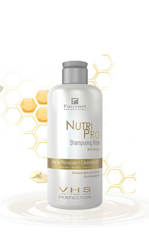 Honigreiches Shampoo - Miel De Provence - Vita Hydro-System - Nutri Pro - Shampooing Riche - 250ml /